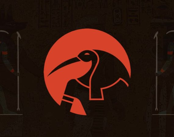 Thoth is the Egyptian god of writing, magic, and wisdom.