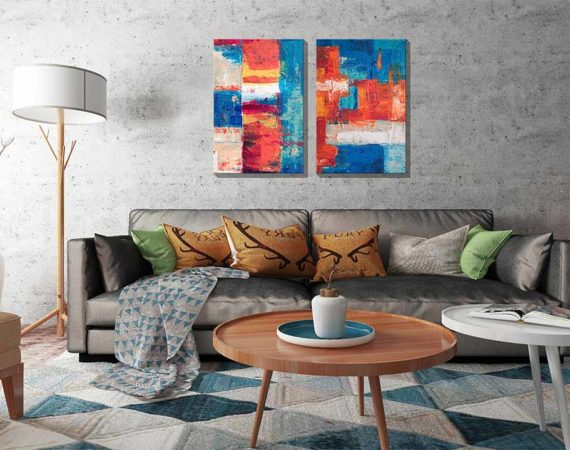 Wall Art For Interior Design And 10 Tips For Perfect Selection.